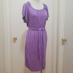 3for$20 midi purple dress